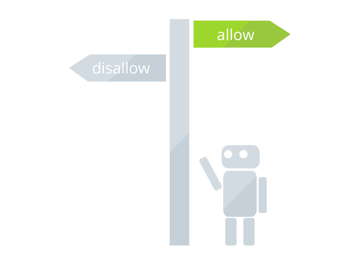 allow/disallow