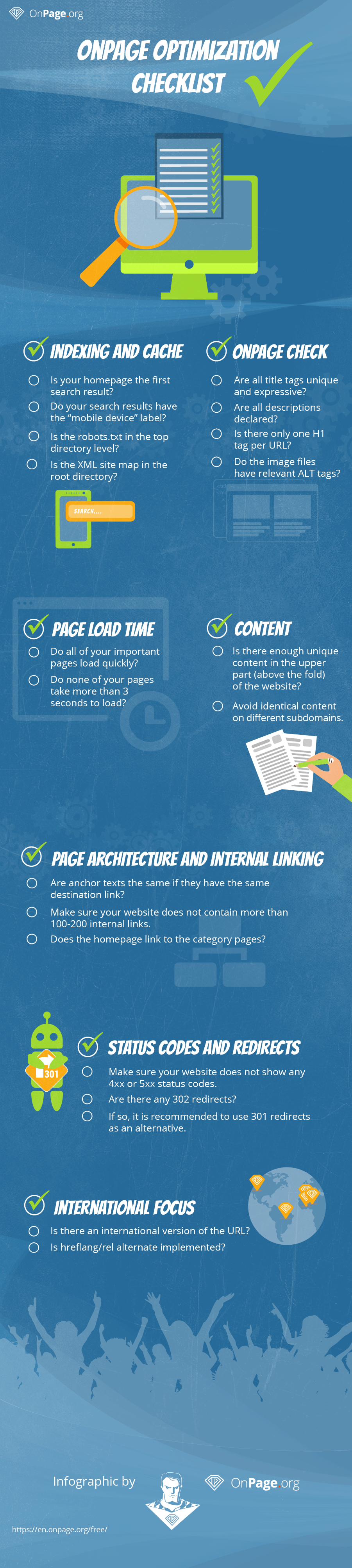 OnPage SEO Tips : Infographic