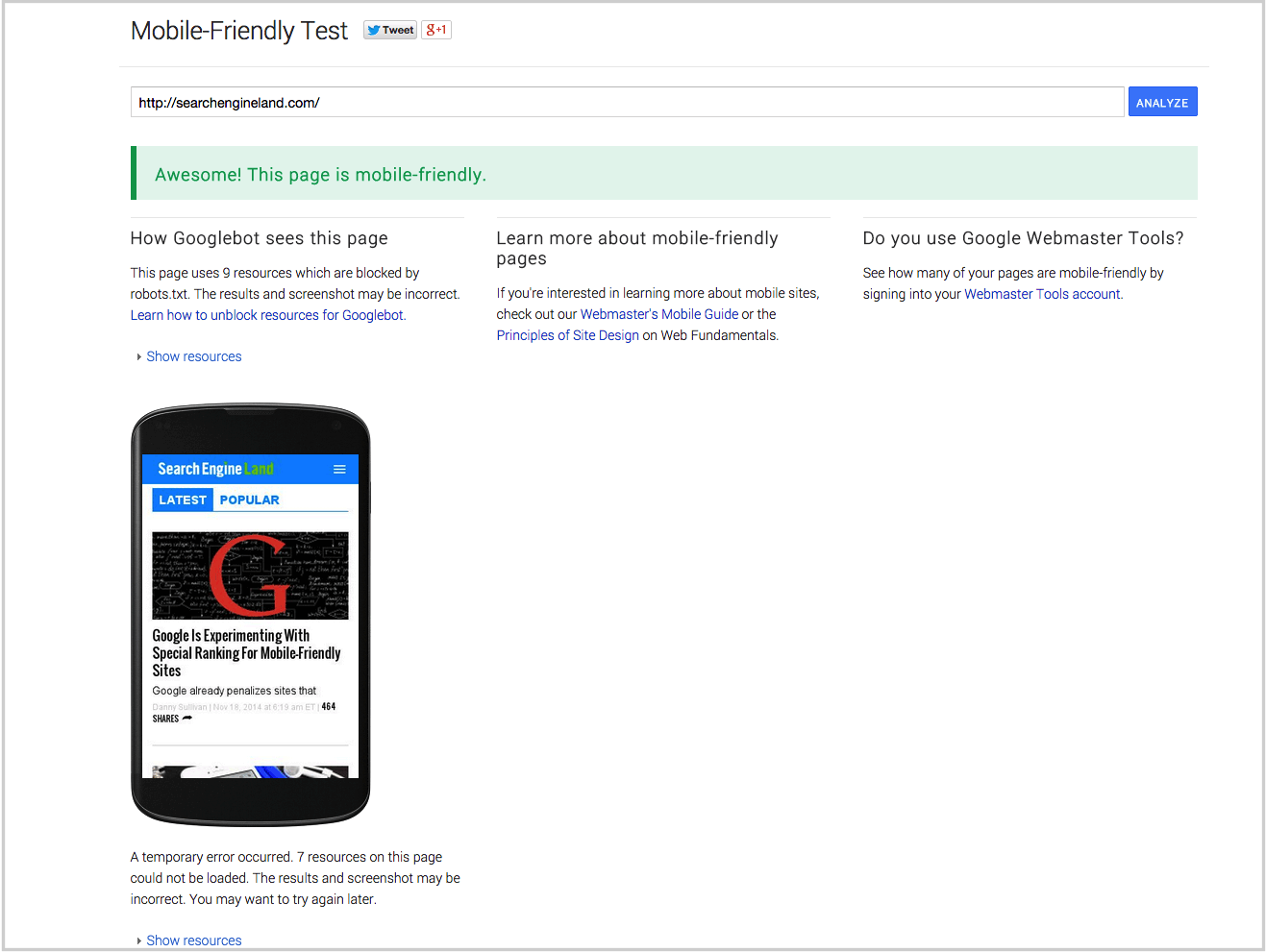 google-mobile-friendly-test-tool-sel SEO Google Mobile Update