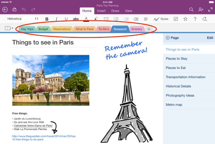 onenote_ipad Online Marketing Content Marketing Content Curation Content