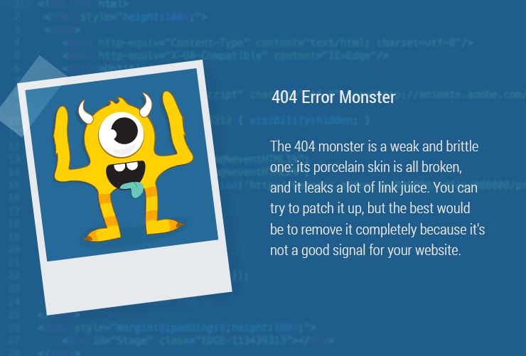 Magazin-Monster-404Error 404 Page 404 error
