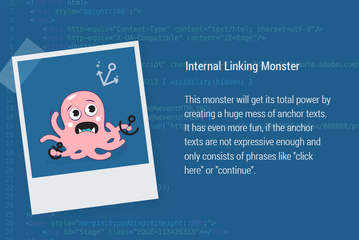 Internal Linking Monster