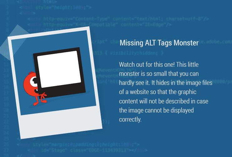 Magazin-Monster-MissingAltTags ALT tag ALT attribute