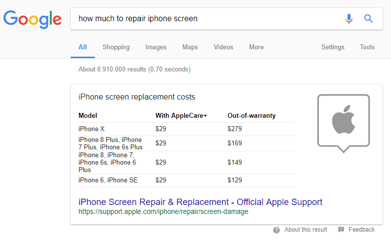 fig-9-iphone-table-snippet Featured Snippets