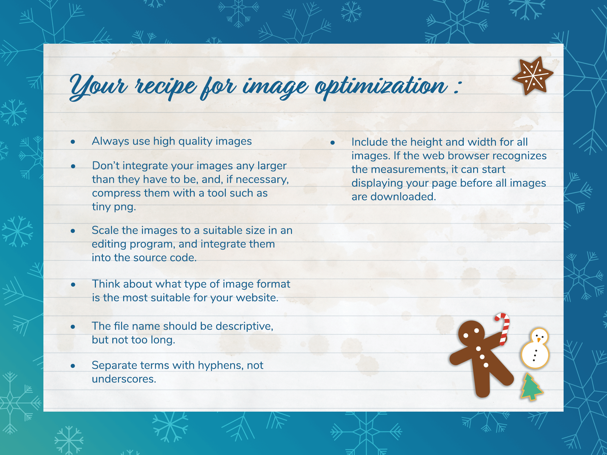 Beitragsbild-Rezept-Bildoptimierung-EN Image SEO Image optimization ALT tags