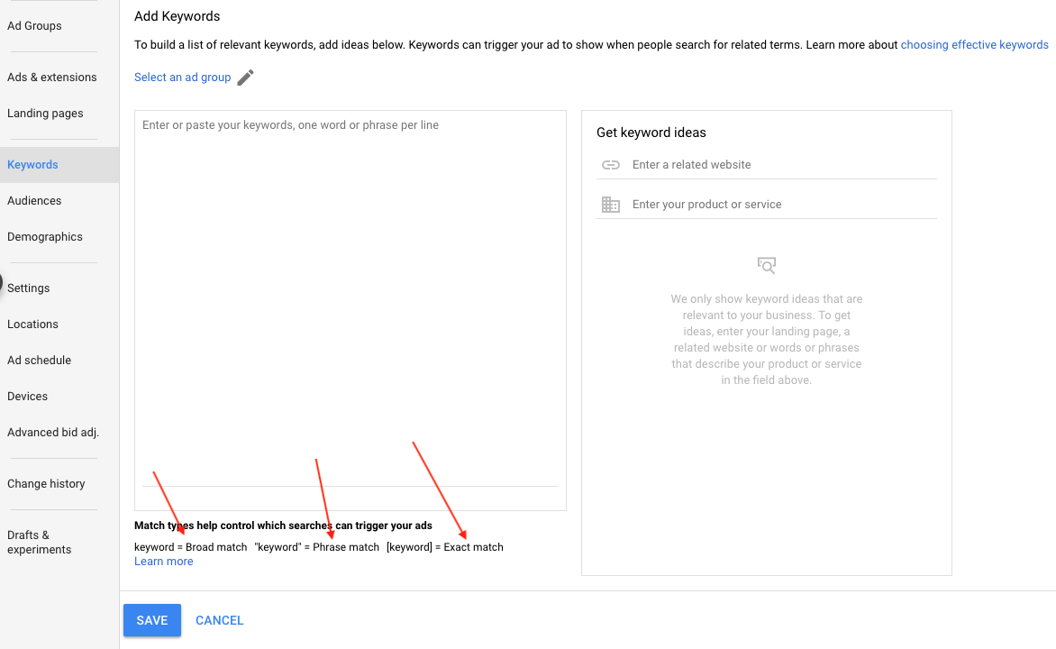Google-Ads-add-keyword-1 Google Ads