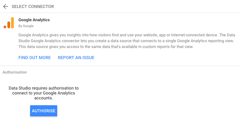 Google-Data-Studio-connect-Google-Analytics