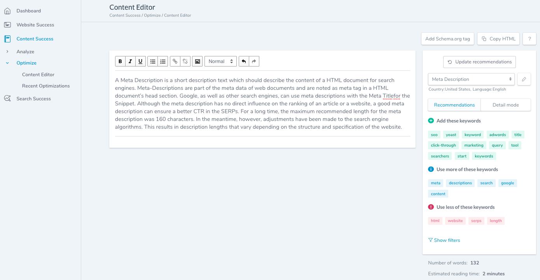 Content-Success-Content-Editor