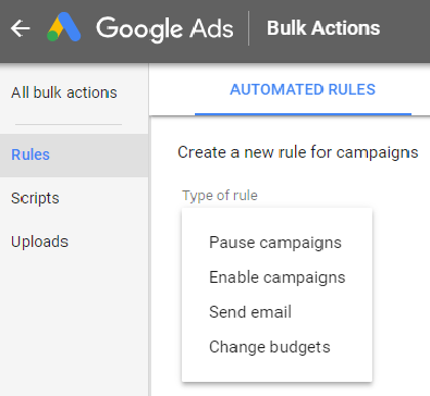 automated-google-rules Google Ads Automated rules in Google Ads automated rules