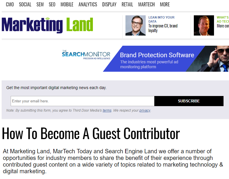 Guest-Author-Marketing-Land content marketing ideas Content Marketing