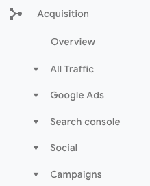 8-Acquisition KPI Google Analytics