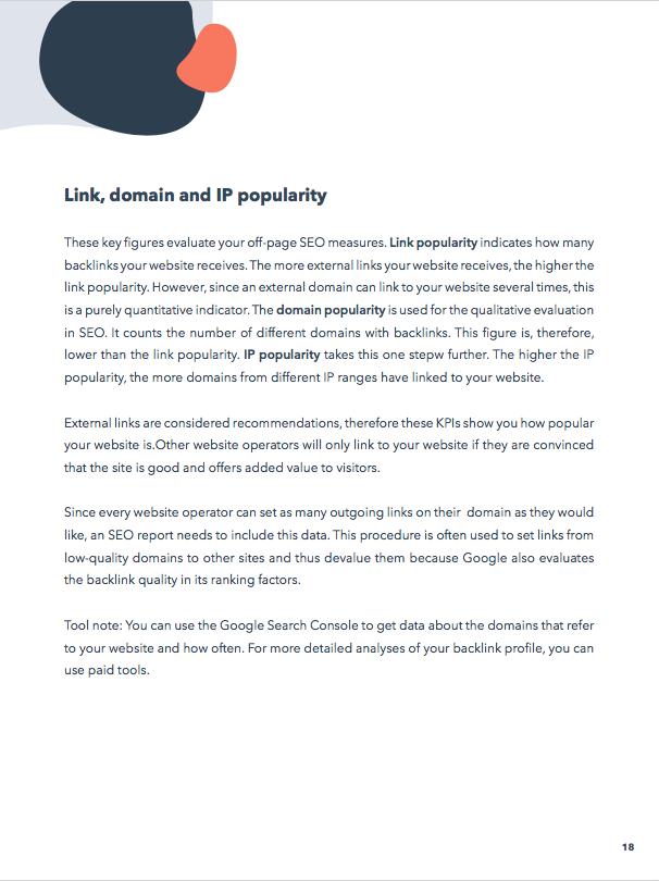 KPI-Backlink-profile