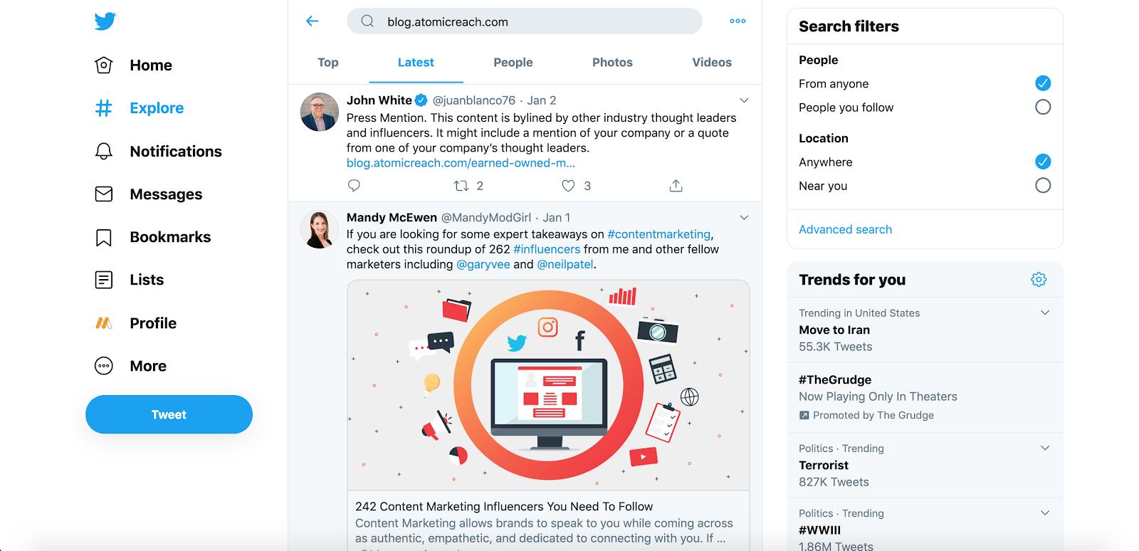 organic-twitter-hacks-url-search twitter hacks Twitter social media hacks social media organic twitter hacks