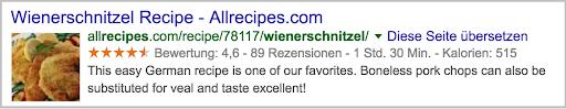 Rich-Snippet-for-Recipe-example-WordPress-SEO WordPress website WordPress SEO Wordpress Optimize wordpress