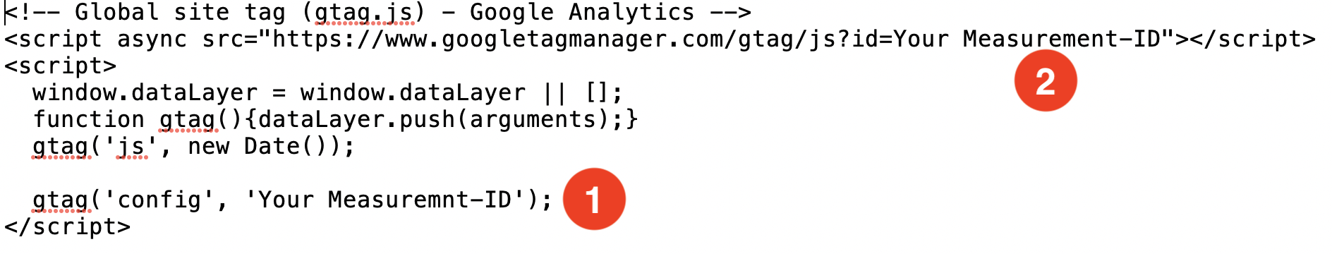 gtag.js-with-your-measurement-id-ga4-ryte universal analytics Google Analytics 4 property Google Analytics 4 GA4 property GA4